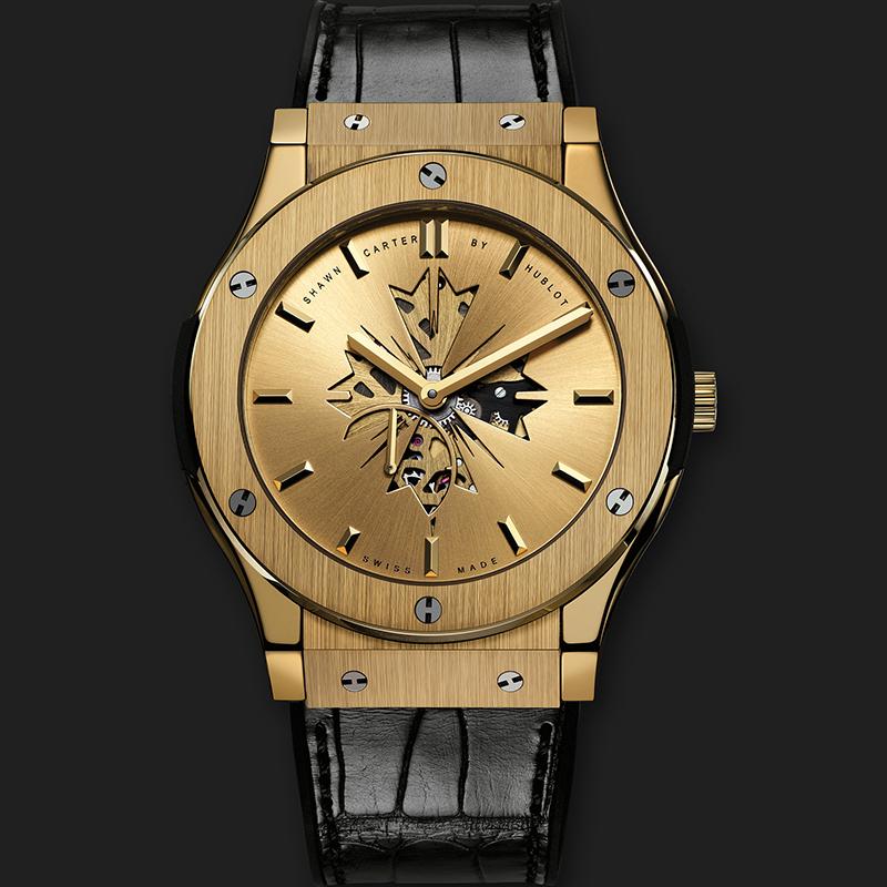 Classic Fusion Shawn Carter 515.VX.4001.LR.SHC13 (Yellow Gold)