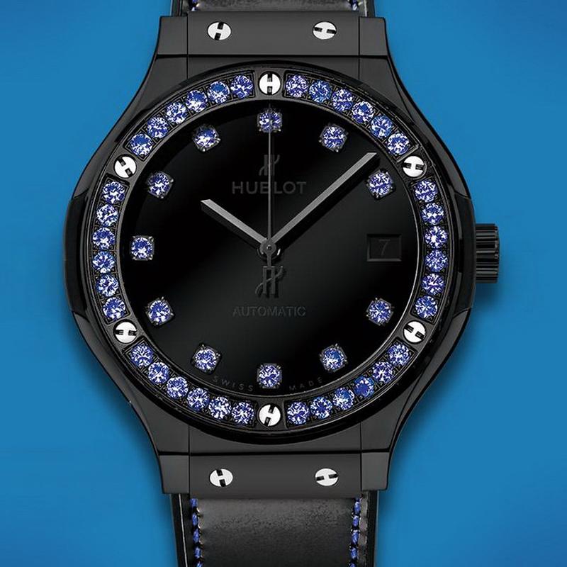 Classic Fusion Shiny Ceramic Blue 565.CX.1210.VR.1201 (Ceramic)