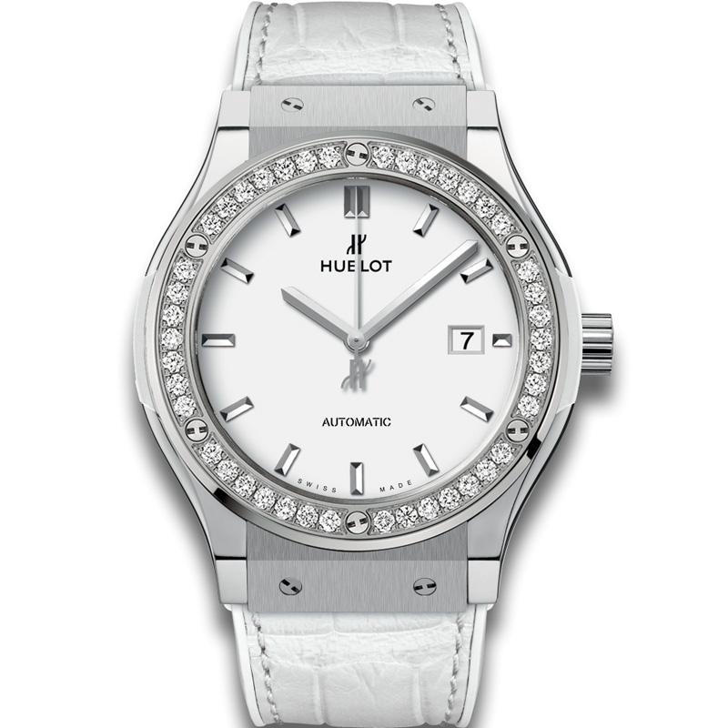 Classic Fusion Titanium White Diamonds 542.NE.2010.LR.1204 (Titanium)