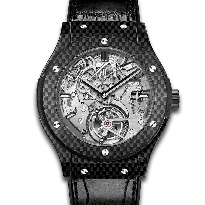 Classic Fusion Tourbillon Cathedral Minute Repeater Carbon 504.QX.0110.LR (Carbon Fiber)