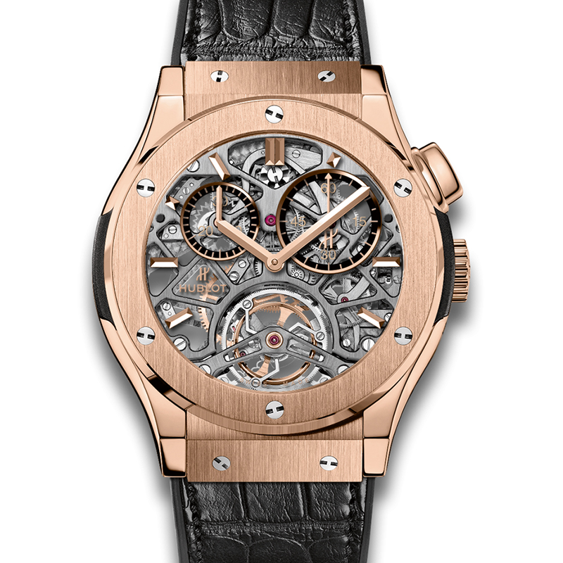Classic Fusion Tourbillon Skeleton King Gold 506.OX.0180.LR (King Gold)