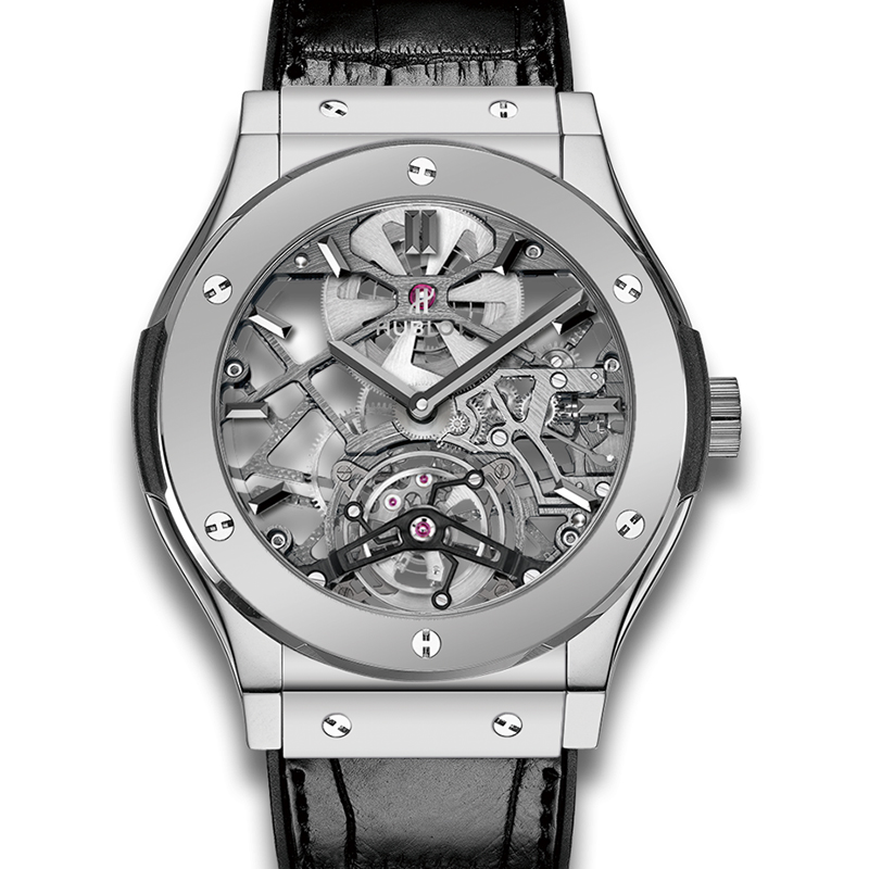 Classic Fusion Ultra-Thin Skeleton Tourbillon Platinum 505.TX.0170.LR (Platinum)