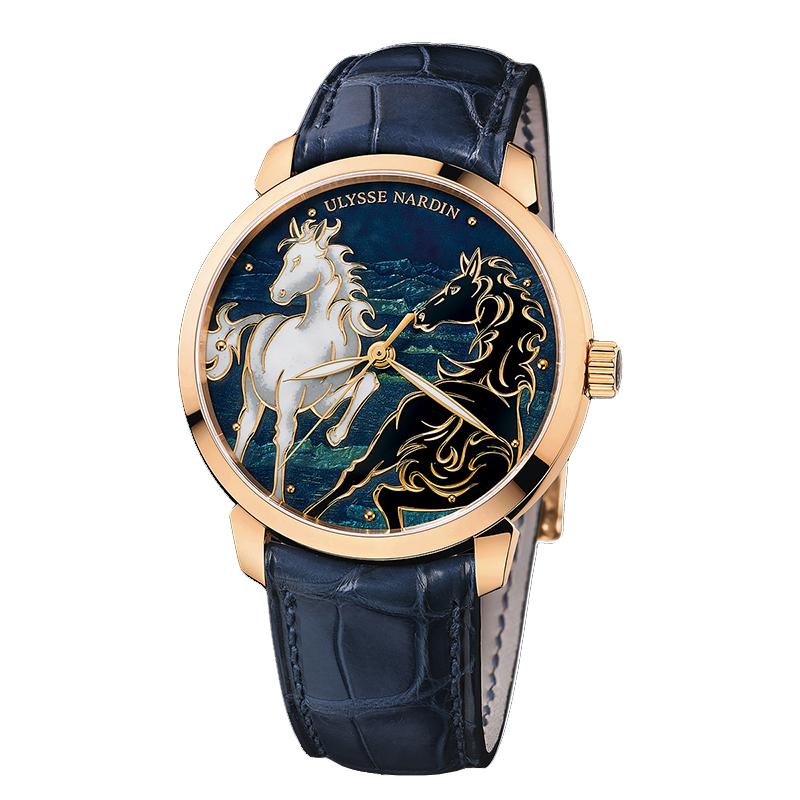 Classico Horse Cloisonné 40mm 8156-111-2/CHEVAL