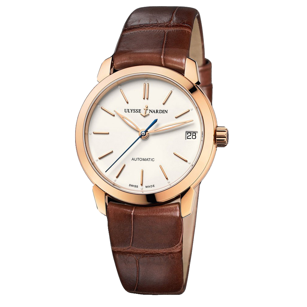 Classico Lady (RG / Eggshell / Leather Strap)