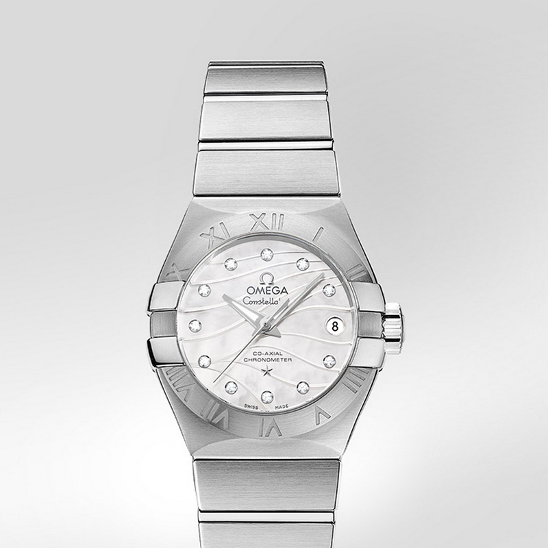 Constellation Omega Co-Axial 27 mm 123.10.27.20.55.002 (Stainless Steel)