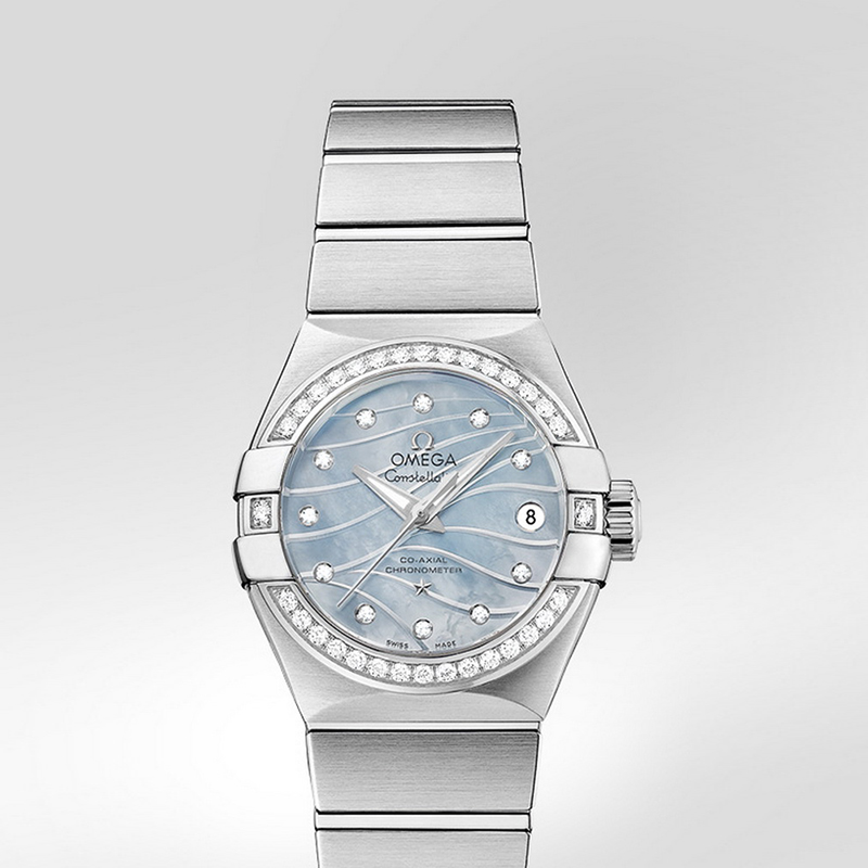 Constellation Omega Co-Axial 27 mm 123.15.27.20.57.001 (Stainless Steel)