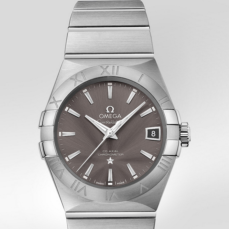 Constellation Omega Co-Axial 38 mm 123.10.38.21.06.001 (Stainless Steel)
