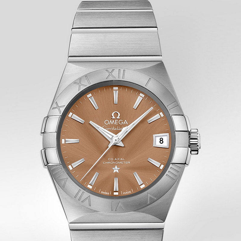Constellation Omega Co-Axial 38 mm 123.10.38.21.10.001 (Stainless Steel)