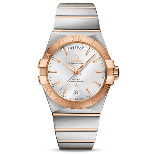 Constellation Omega Co-Axial Day-Date 123.20.38.22.02.001