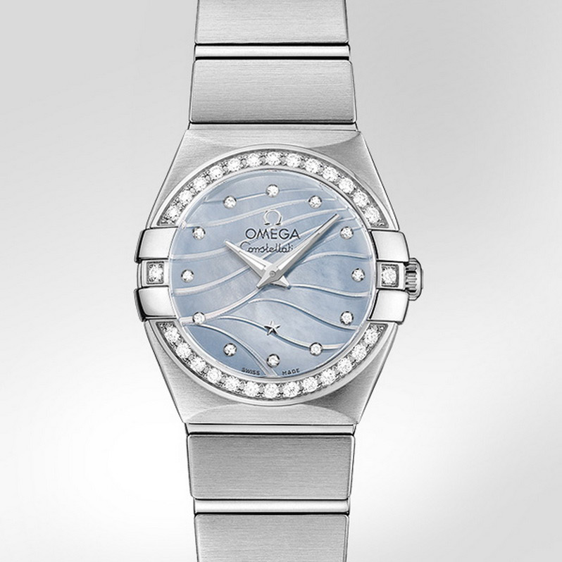 Constellation Quartz 24 mm 123.15.24.60.57.001 (Stainless Steel)