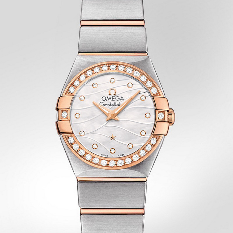 Constellation Quartz 24 mm 123.25.24.60.55.012 (Stainless Steel/Rose Gold)