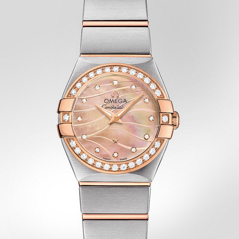 Constellation Quartz 24 mm 123.25.24.60.57.002 (Stainless Steel/Rose Gold)