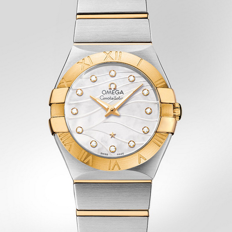 Constellation Quartz 27 mm 123.20.27.60.55.005 (Stainless Steel/Yellow Gold)