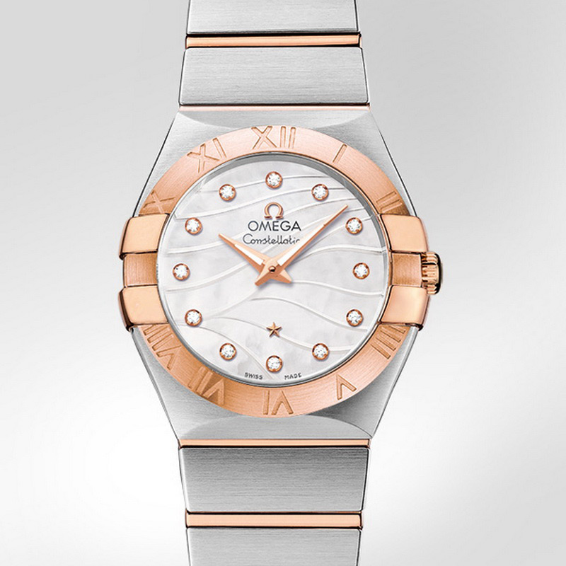 Constellation Quartz 27 mm 123.20.27.60.55.006 (Stainless Steel/Rose Gold)