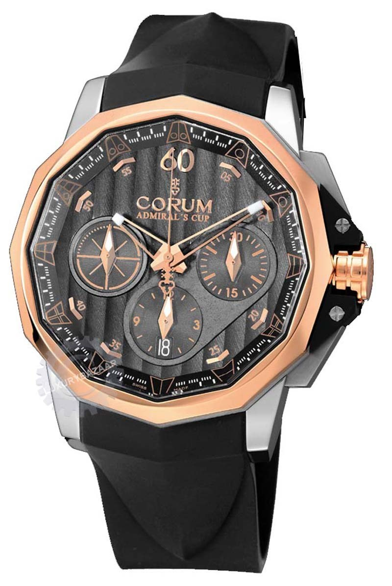 Admiral's Cup 44mm Chrono Two-Tone Watch 753.771.24/F371 AK16