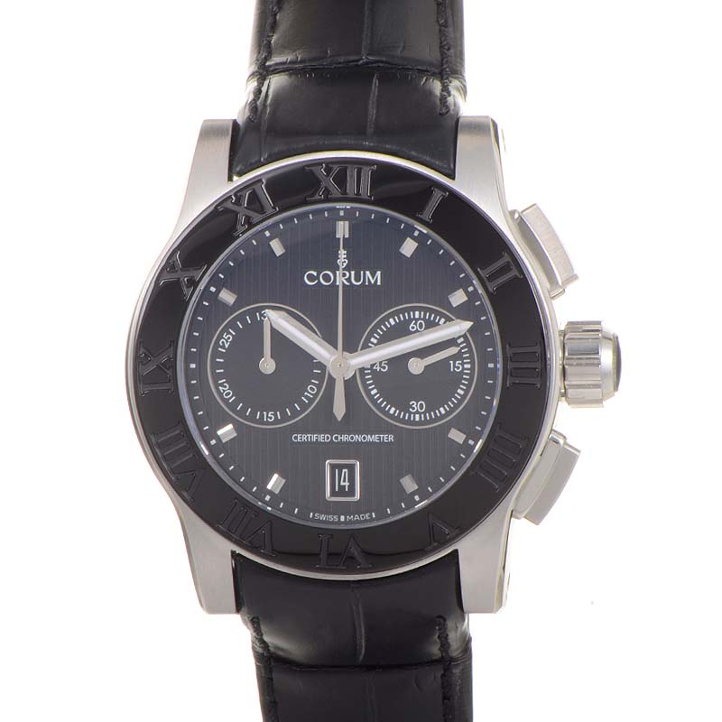 Heritage Romvlvs Chronograph Steel Watch 984.715.98/0F01.BN77