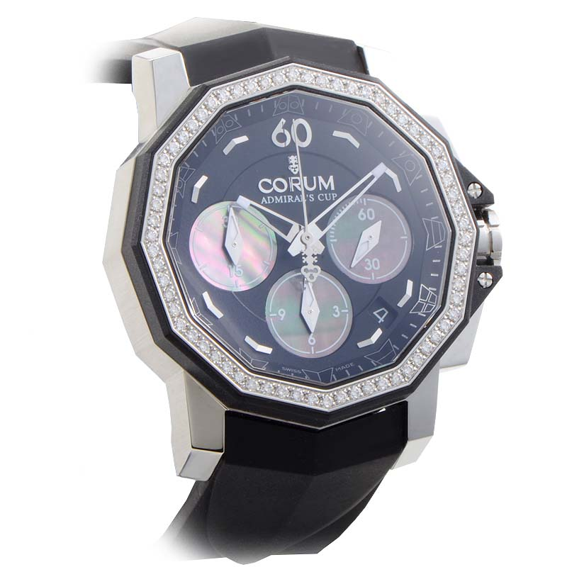 Ladies Admiral's Cup Challenger 40 Chrono Diamonds 984.970.47/F371 PN34