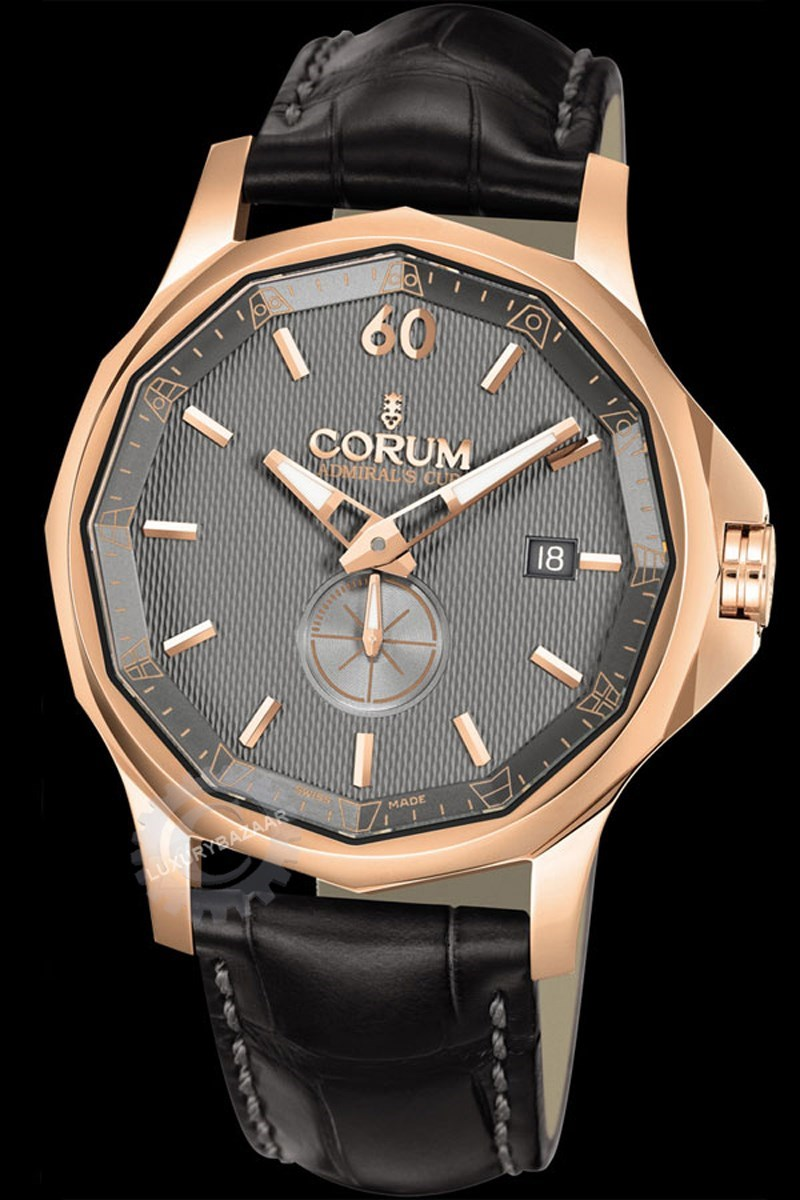 Admiral's Cup 42mm Legend Rose Gold Watch 395.101.55/0001 AK12