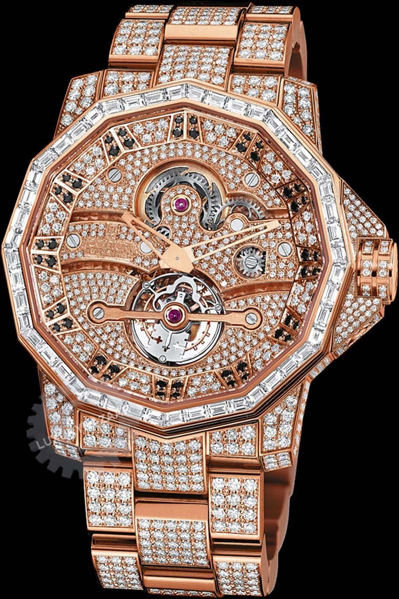 Admiral's Cup 48mm Tourbillon High Jewelry 372.931.85/V703 0000
