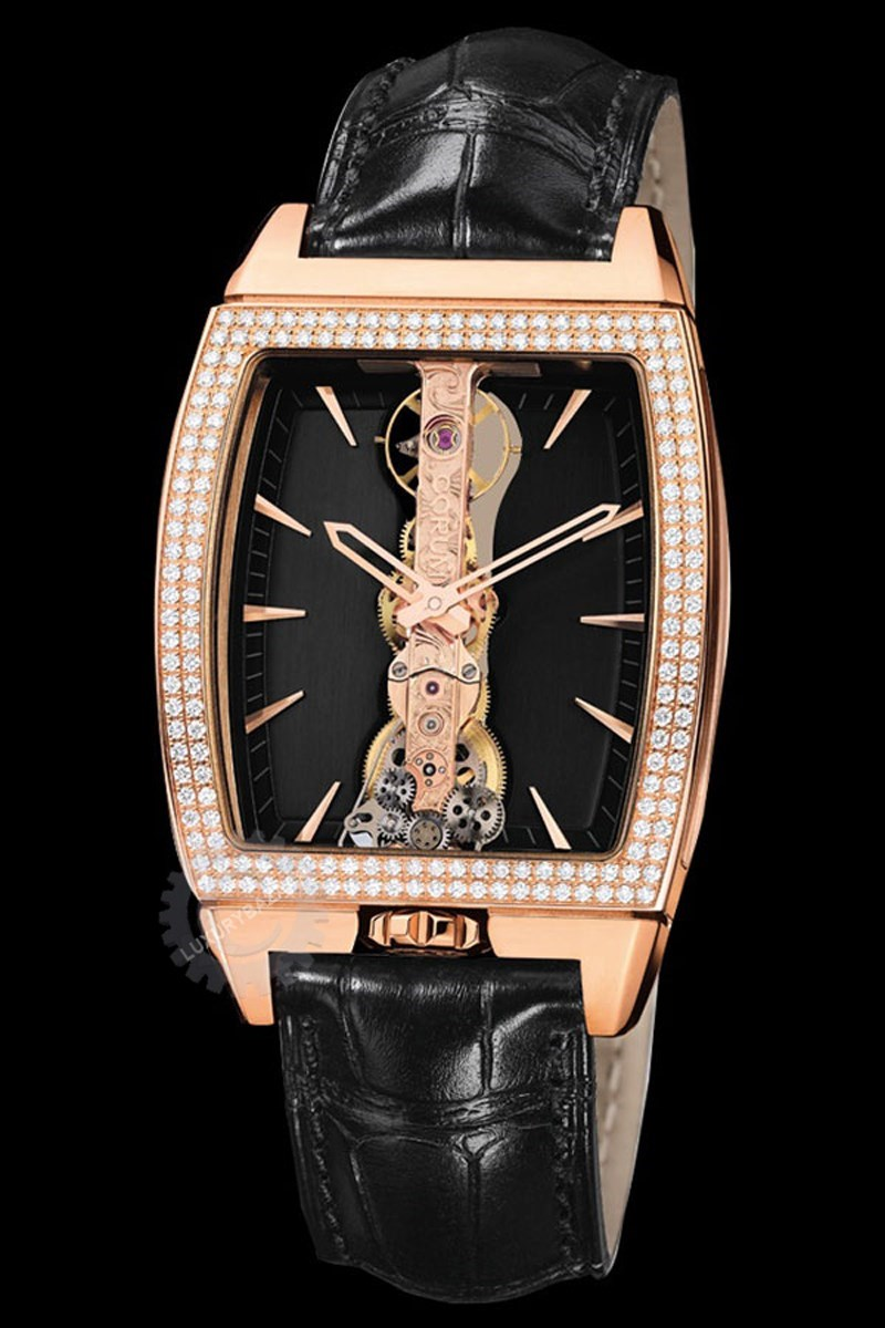 Bridges Golden Bridge Diamond Watch 113.151.85/0001 FN02