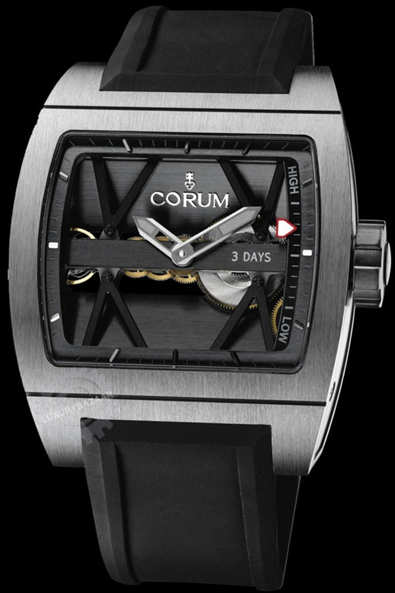 Bridges Ti-Bridge Power Reserve Watch 107.101.04/F371 0000