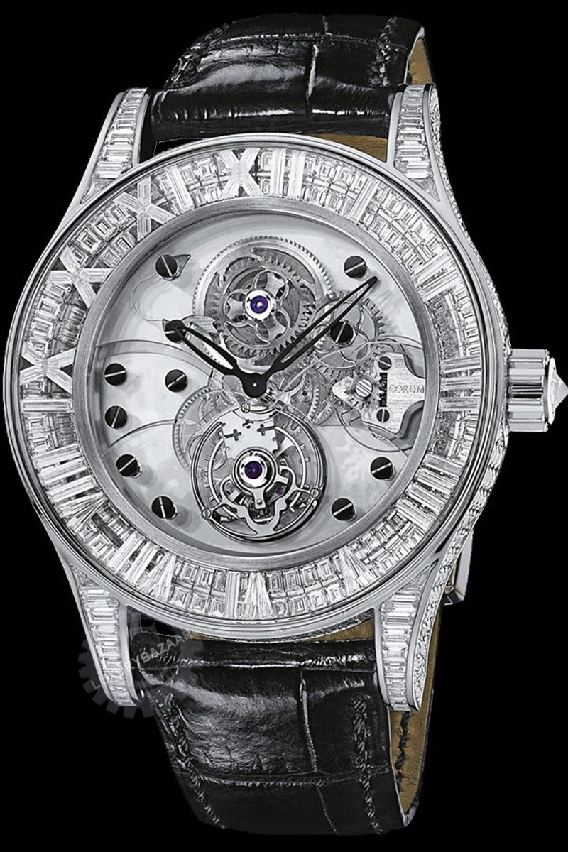 Heritage Romvlvs Billionaire Tourbillon Watch 372.719.69/0F81 0000