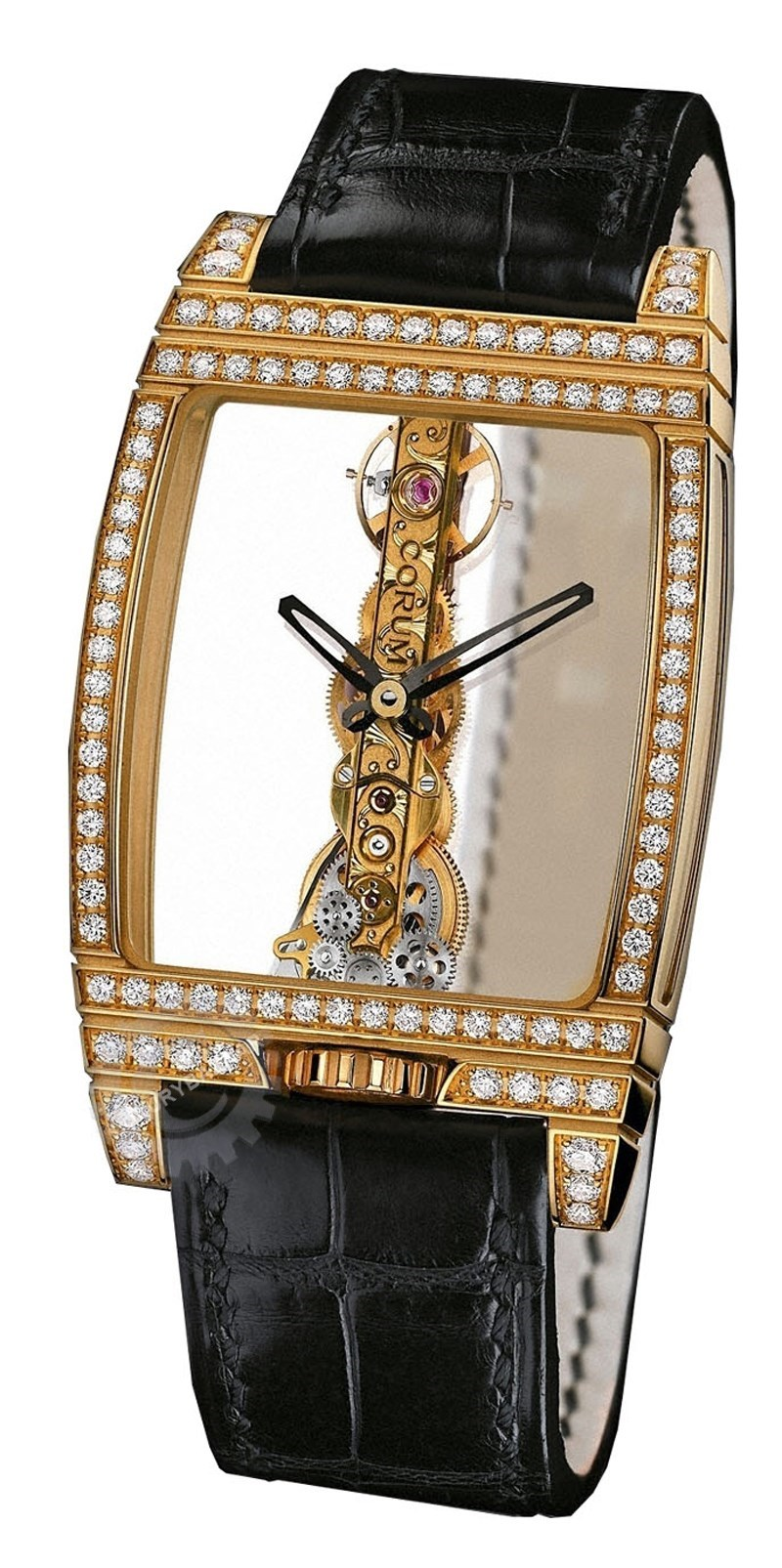 Watches Golden Bridge Gold Diamonds 113.751.65/0001 0000J