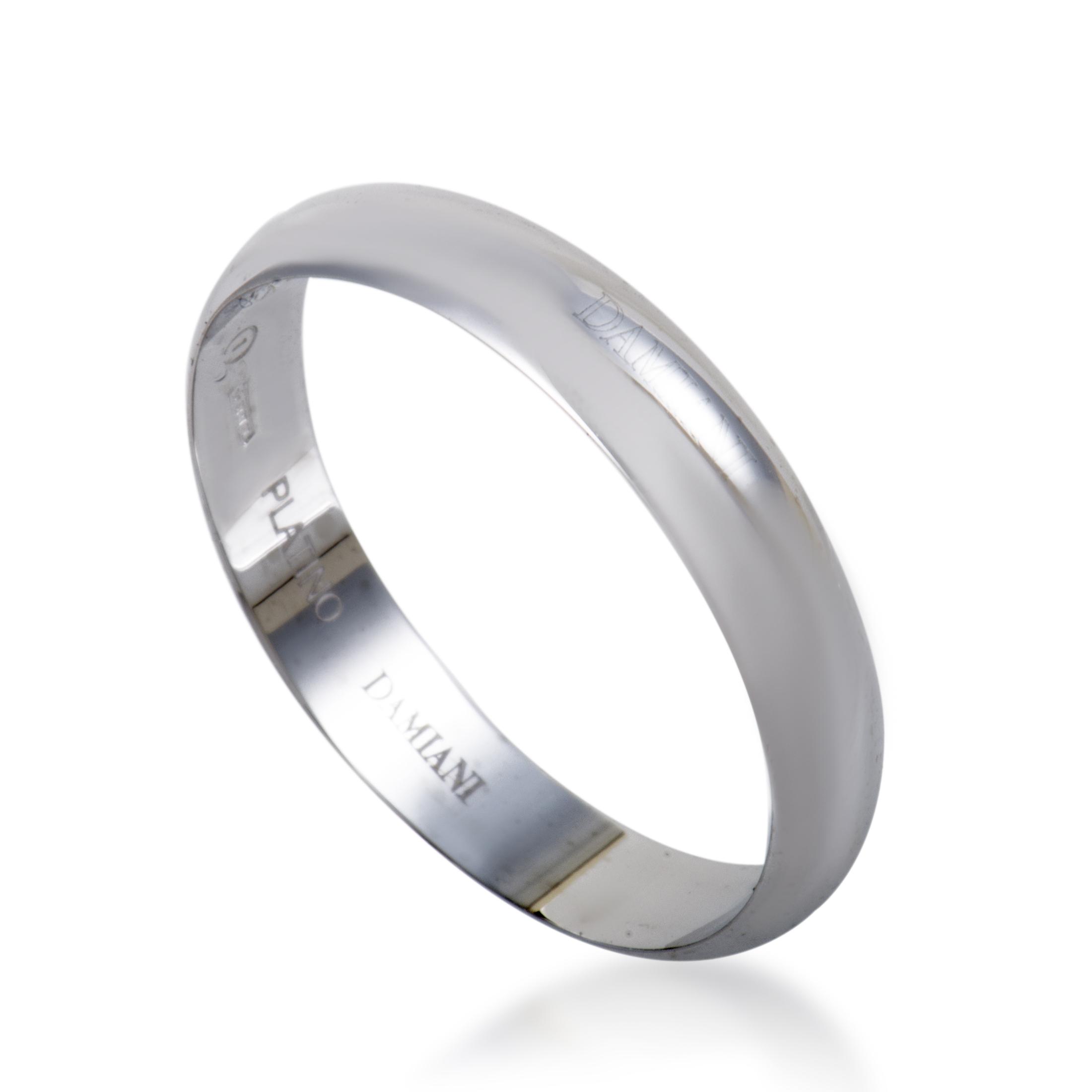 damiani womens platinum wedding band ring ebay
