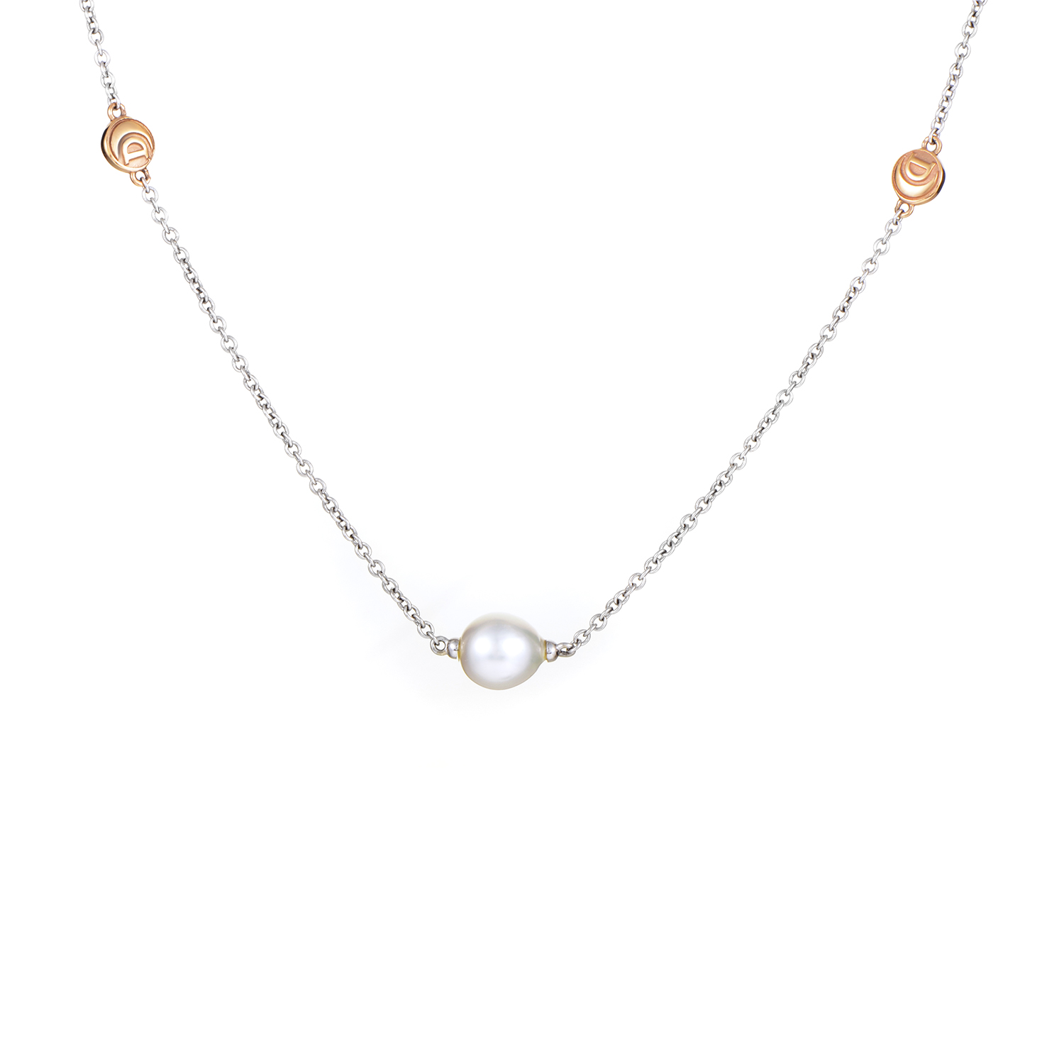 Women's 18K Multi-Tone Gold Pearl Sautoir Necklace