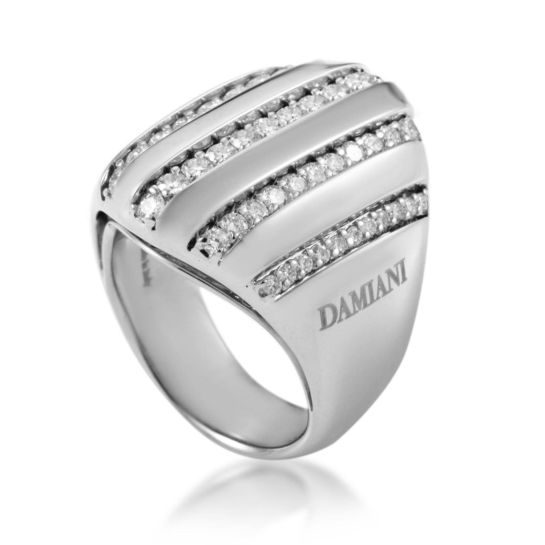 18K White Gold Diamond Ring 2007469