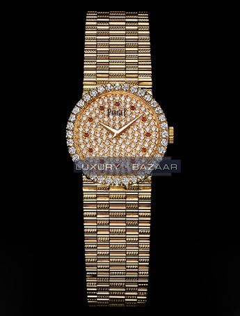 Dancer Traditional Diamond Watch (RG-Diamond / Diamond / Bracelet)