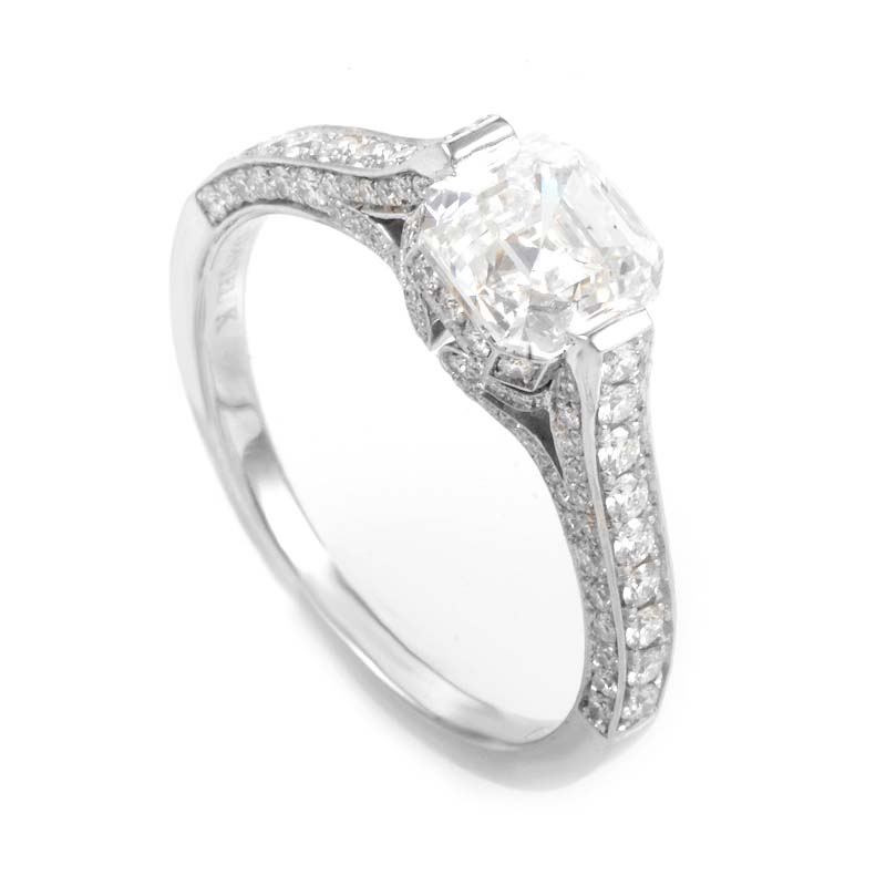 Platinum & Diamond Engagement Ring 20946430