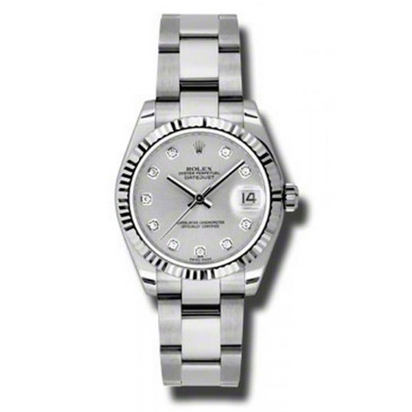 Oyster Perpetual Datejust 31mm Fluted Bezel 178274 sdo