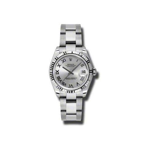 Oyster Perpetual Datejust 31mm Fluted Bezel 178274 sro