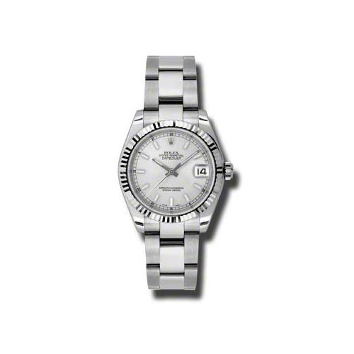 Oyster Perpetual Datejust 31mm Fluted Bezel 178274 sso