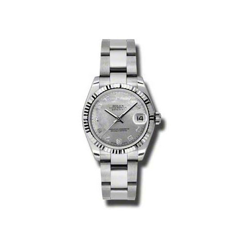 Oyster Perpetual Datejust 31mm Fluted Bezel 178274 wgdmdao