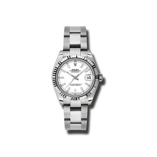 Oyster Perpetual Datejust 31mm Fluted Bezel 178274 wso