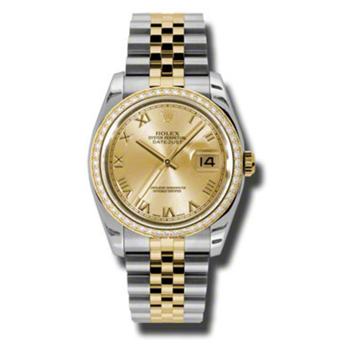 Datejust 36mm 116243 chrj