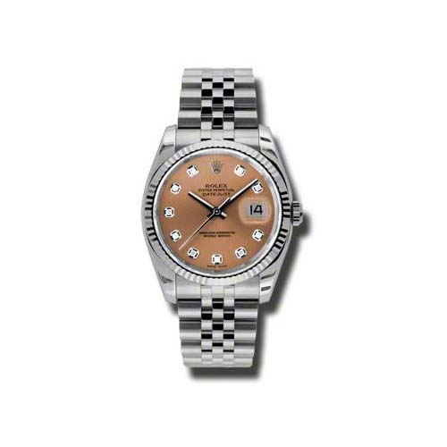 Oyster Perpetual Datejust 36mm Fluted Bezel 116234 pdj