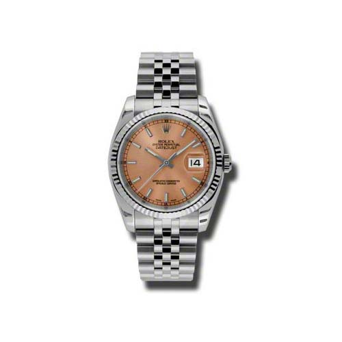 Oyster Perpetual Datejust 36mm Fluted Bezel 116234 pij