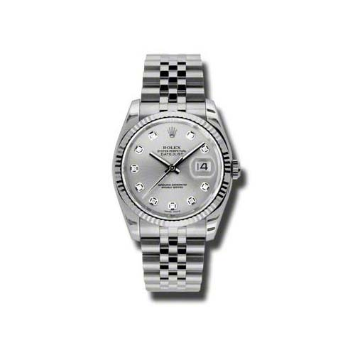 Oyster Perpetual Datejust 36mm Fluted Bezel 116234 sdj