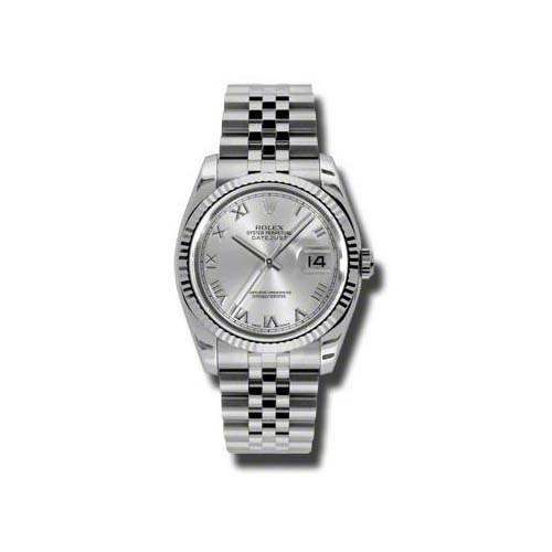 Oyster Perpetual Datejust 36mm Fluted Bezel 116234 srj