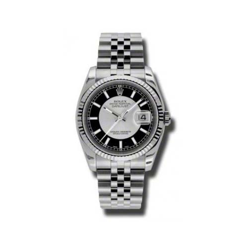 Oyster Perpetual Datejust 36mm Fluted Bezel 116234 stbksj