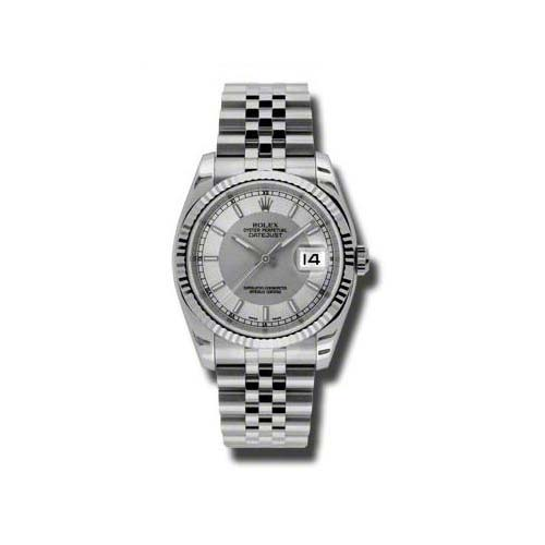 Oyster Perpetual Datejust 36mm Fluted Bezel 116234 stsisj