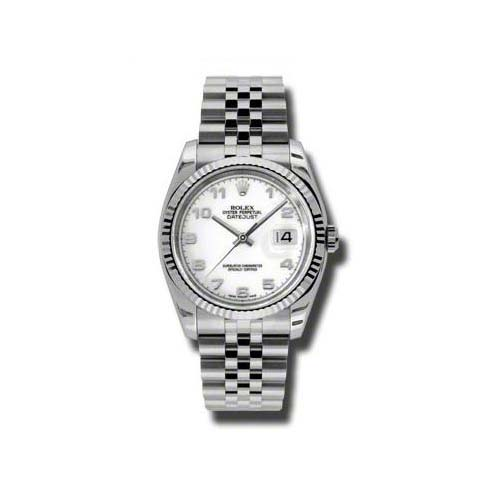 Oyster Perpetual Datejust 36mm Fluted Bezel 116234 waj