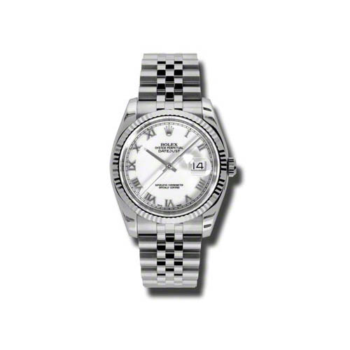 Oyster Perpetual Datejust 36mm Fluted Bezel 116234 wrj