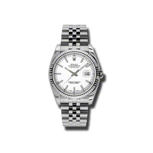Oyster Perpetual Datejust 36mm Fluted Bezel 116234 wsj