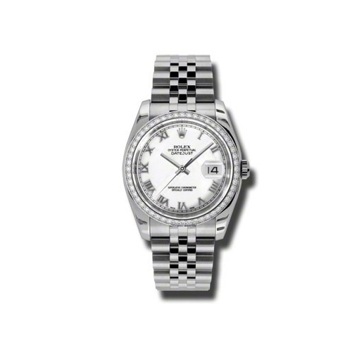 Oyster Perpetual Datejust 36mm Diamond Bezel 116244 wrj