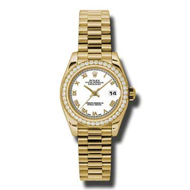 Datejust Lady Gold President 26mm 179138 wrp