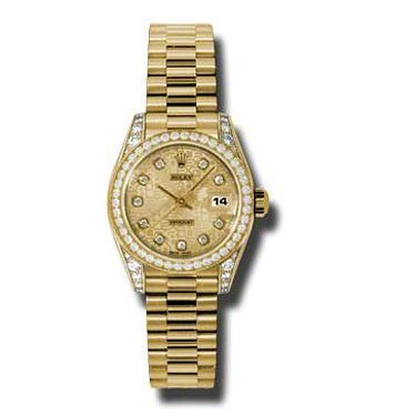 Datejust Lady Gold President 26mm 179158 chjdp
